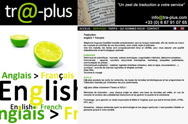 Traplus translation service in Lille, France